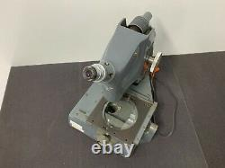 VINTAGE Bausch & Lomb Stereo Microscope T-32594 115V 1.3A YB6843 NICE DEAL