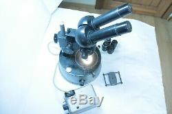 VTG Soviet Era LOMO Binocular Stereo Microscope USSR MBC/MBS-1