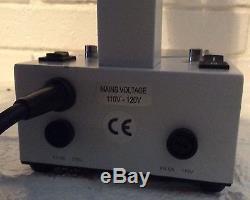Variscope binocular stereo dissecting microscope, 20x 40x 80x