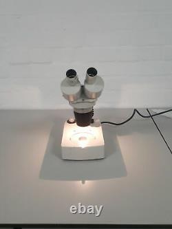 Vicker Instruments Binocular (stereo) Microscope with Light