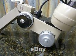 Vickers Instruments Stereo Binocular Microscope Fast Free Shipping Included