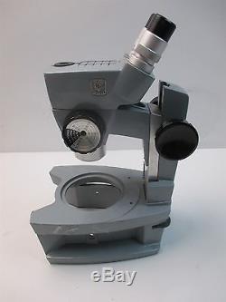 Vintage AO American Optical Spencer Stereo Microscope Binocular Eyepiece Lab