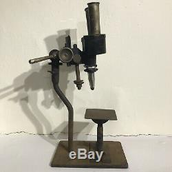 Vintage Carl Zeiss Jena Dissection Stereo Binocular Microscope RARE