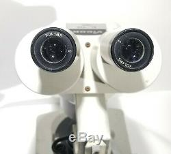Vintage Jeweler Gemstone Microscope Vigor EL-425 Stereo Binocular Made in Japan