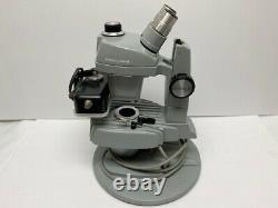 Vintage Jewelers Stereo Microscope Gemolite Mark V Bausch & Lomb 0.7x-3x