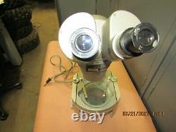 Vintage Olympus Tokyo Stereo Binocular Zoom Microscope 530