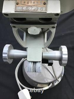 Vintage Prior Of England Stereo Binocular Microscope With Light. No. 46798