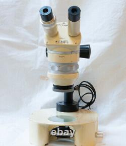 Vintage Wild Heerbrugg M5 Stereo Microscope M5D Working Original Swiss