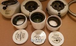 Vision Engineering Beta Stereo Bench Microscope Objectives Fiber Optic Lamp Lot+