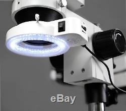 Vision Scientific Binocular Zoom Stereo Microscope 10x Widefield Eyepiece 0.7