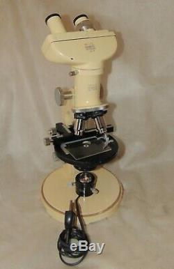 WILD HEERBRUGG M11-EB stereo microscope