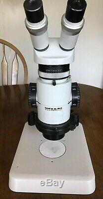 WILD MZ8 Stereo Zoom Microscope on table stand, 1x lens