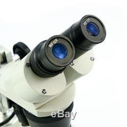 Wide Field Binocular Stereo Microscope 2X 4X Objective for Watchmaker Industry