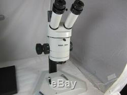 Wild Heerbragg M3Z Stereo Microscope on Wild table stand, Wild 10x eye pieces
