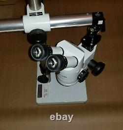 Wild Heerbragg Switzerland M3Z Stereo Zoom MicroscopeWith Table Stand