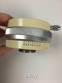 Wild Heerbrugg 1.25x microscope mystery part stereo / binocular with aperture