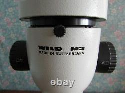 Wild Heerbrugg M3 stereo microscope