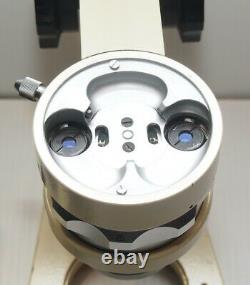 Wild Heerbrugg M5 Stereo Microscope 6-50 Zoom, 10x Eyepieces, Stand
