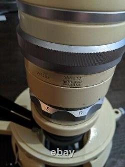 Wild Heerbrugg M5 Stereo Microscope Switzerland