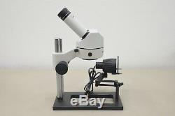 Wild Heerbrugg Stereo Microscope M Series with Leitz Illuminator (16155 E13)