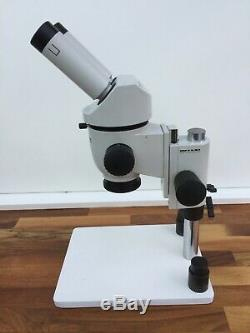 Wild Leica M3 Stereo Microscope 1x Objective 5x eyepieces Incident Light stand