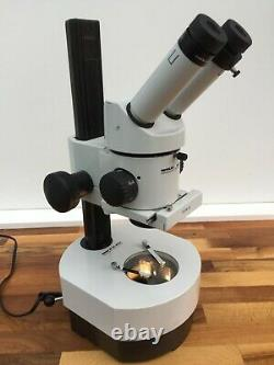 Wild Leica M3C Type S Stereo Microscope & BF / DF 12v 100w Hal Incident Stand