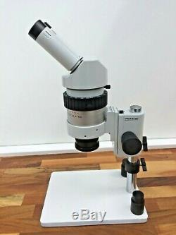 Wild Leica M7S Stereo Microscope 1x Objective 5x eyepieces Incident Light stand
