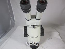 Wild stereo zoom Microscope M8, binocular with Leica 16x eye pieces
