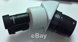 Wylie WL-240A Binocular Laboratory Microscope Stereo Microscope 40X / 80X Zoom