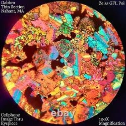 ZEISS GFL Polarizing Petrographic Microscope Stereo POL Objective VERY NICE #613