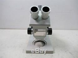 Zeiss Aus JENA GSZ Stereo Microscope Binocular German Lab Unit with Stand